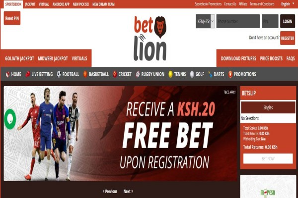 Betlion Registration