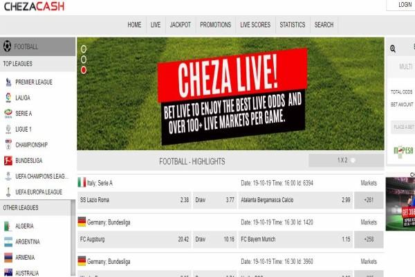 ChezaCash Kenya, Registration, App, Bonus, PayBill and Jackpot Predictions